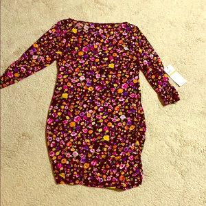 NWT Anne Cole floral beach cover-up